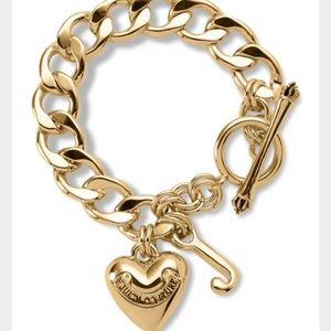 Juicy Couture Charm Bracelet in gold
